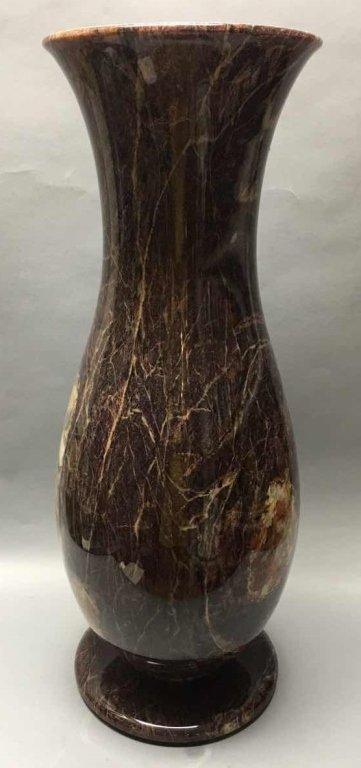 large marble vase