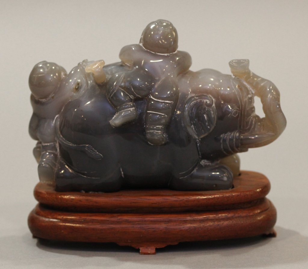 Chinese water agate carving - 2