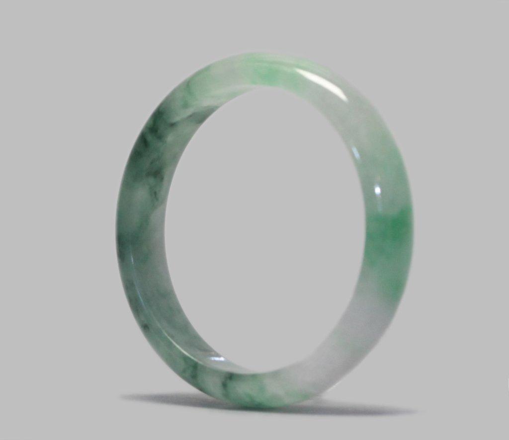 Chinese jadeite bangle - 3