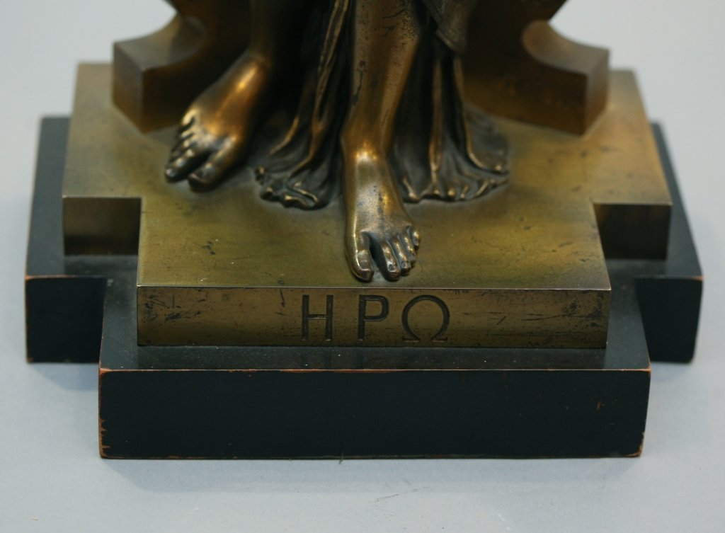 19th c. bronze figure of Diana, signed Peiffer - 3