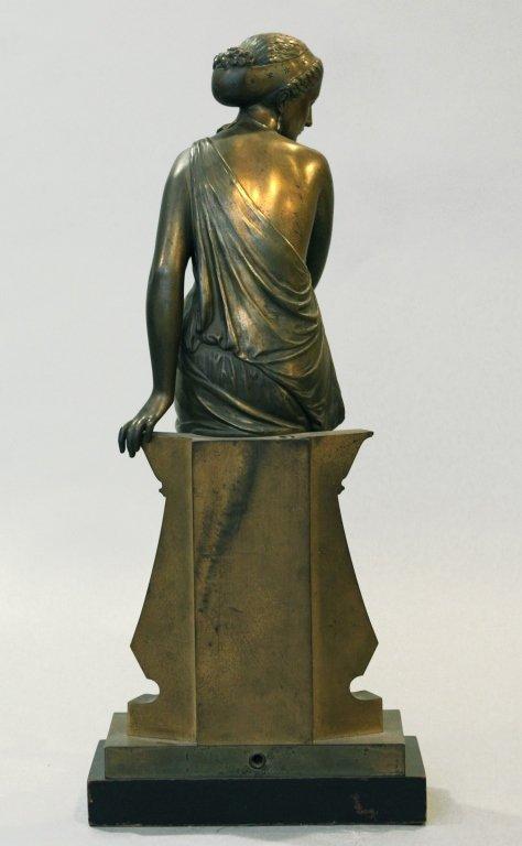 19th c. bronze figure of Diana, signed Peiffer - 6