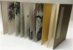 album of Chinese watercolors