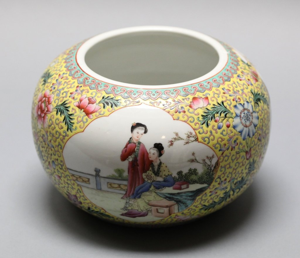 Chinese famille rose porcelain bowl