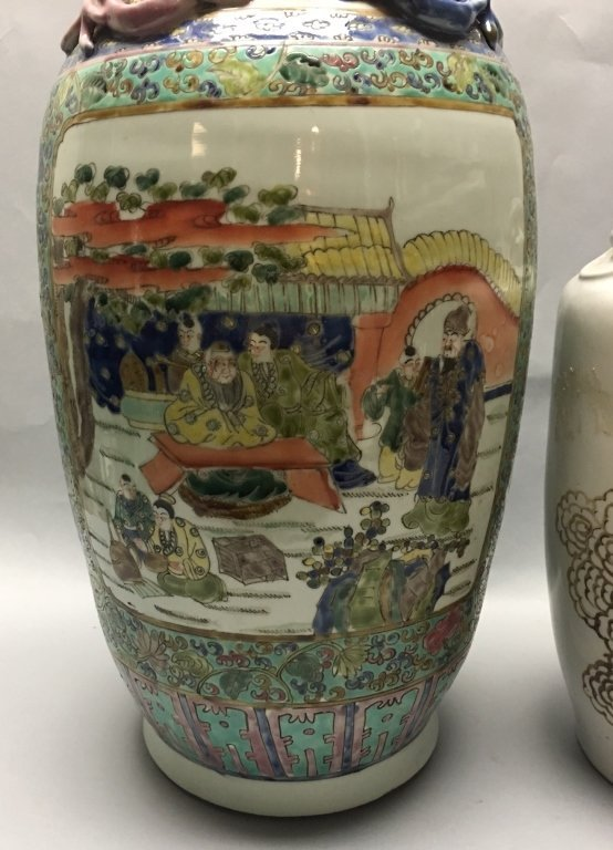 two Chinese porcelain vases - 3