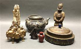 group of 7 Chinese items