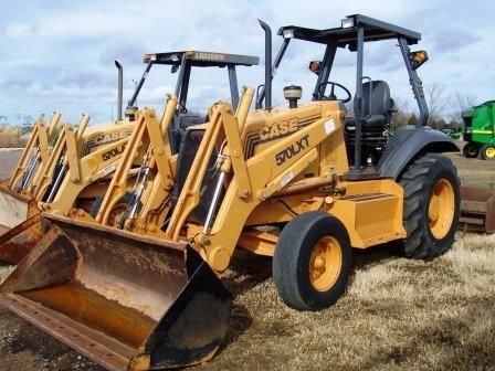 113: Case 570LXT Landscape Tractor