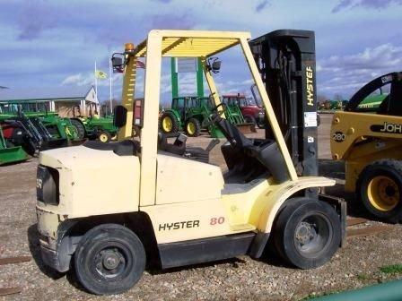 116: Hyster H80 Forklift - 2