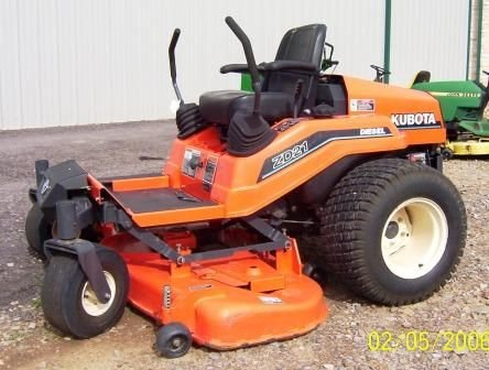 125: Kubota ZD21 Zero turn Mower