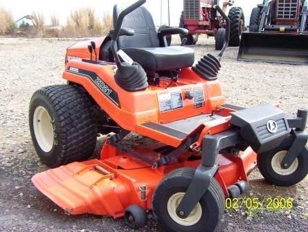 125: Kubota ZD21 Zero turn Mower - 2