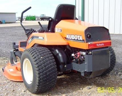 125: Kubota ZD21 Zero turn Mower - 4