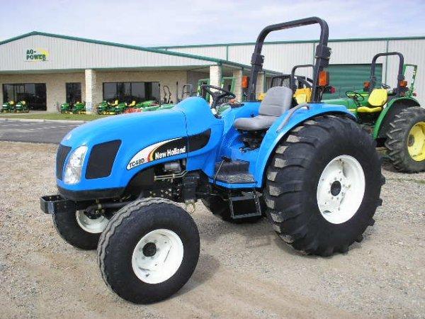 2473: NH TC48DA Compact Tractor