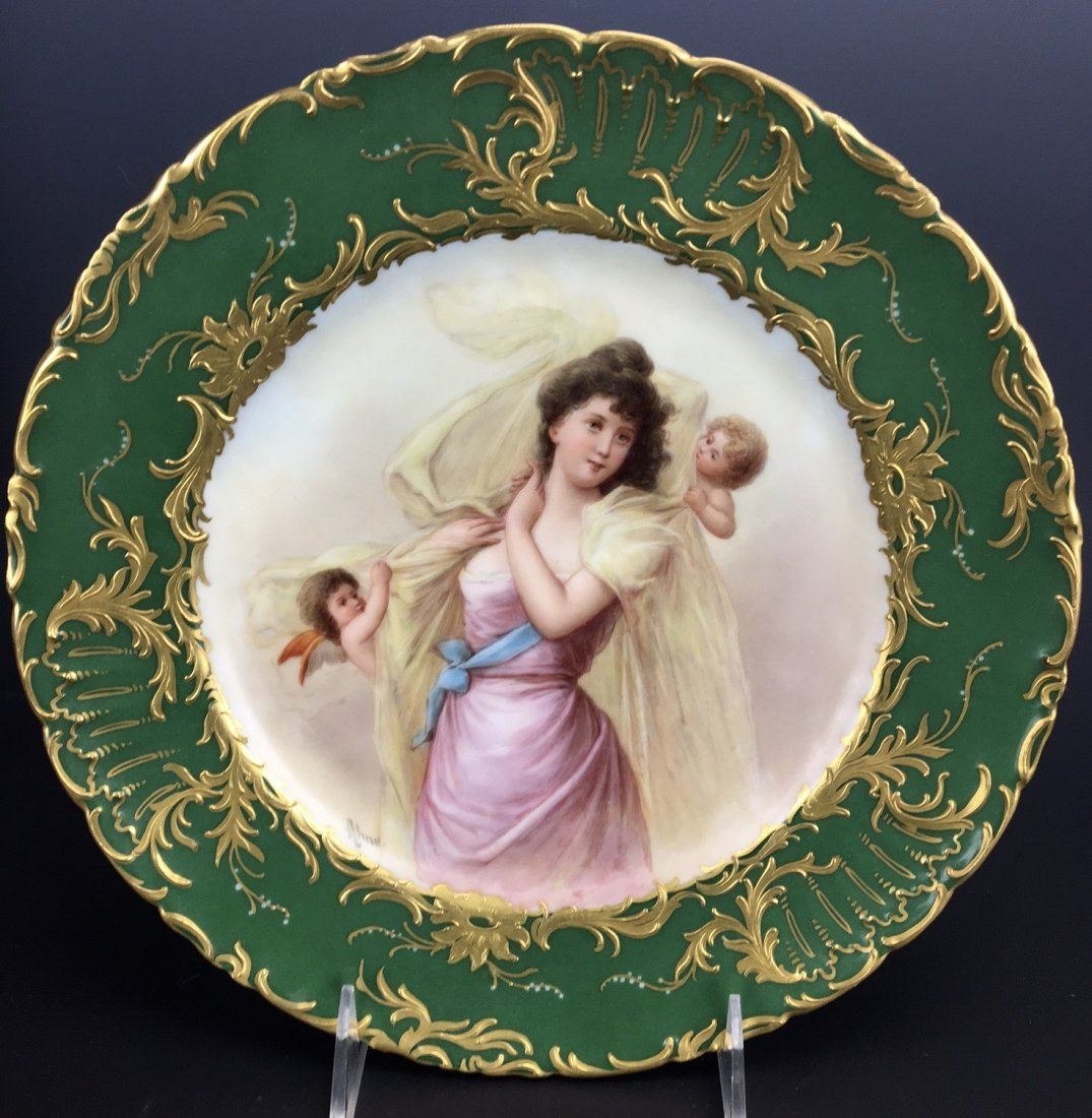 19TH CENTURY ROYAL VIENNA PLATE