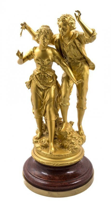 FRENCH GILT SCULPTURE