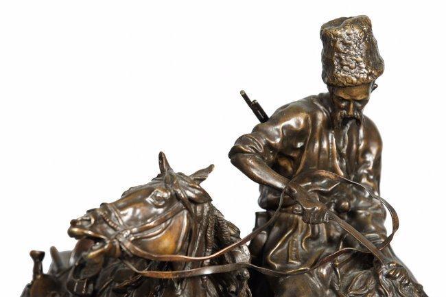 RUSSIAN BRONZE SCULPTURE BY EUGENE LANCERAY - 2