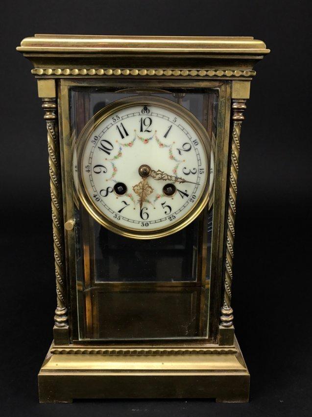19TH CENTURY DORE BRONZE TIFFANY CLOCK