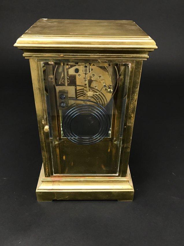 19TH CENTURY DORE BRONZE TIFFANY CLOCK - 2