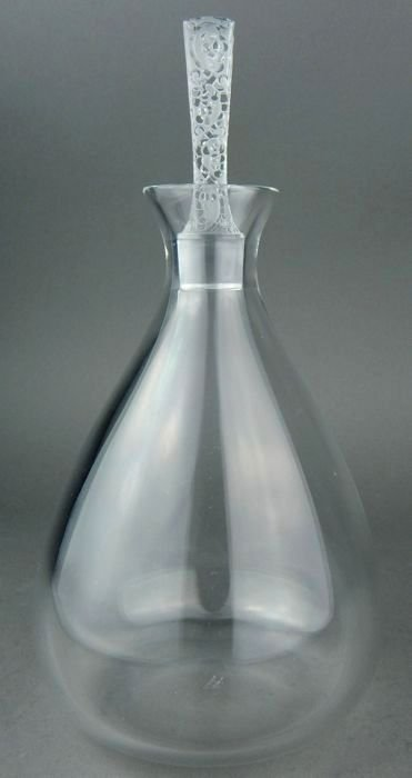 LALIQUE PHALSBOURG CRYSTAL BOTTLE
