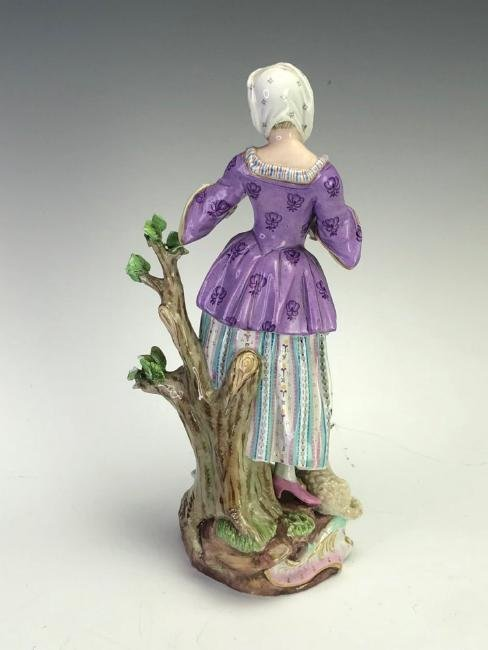 LARGE 19TH C. MEISSEN FIGURE - 2