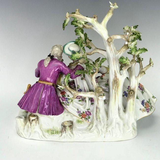 A LARGE 19TH C. MEISSEN GROUP - 3