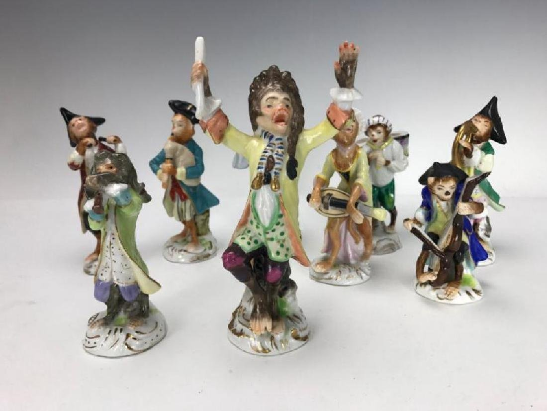 DRESDEN PORCELAIN MONKEY BAND