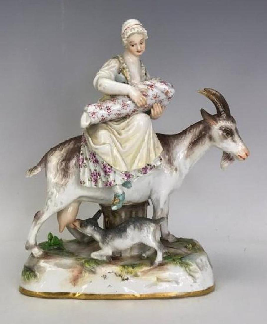 A GOOD 19TH C. MEISSEN GROUP