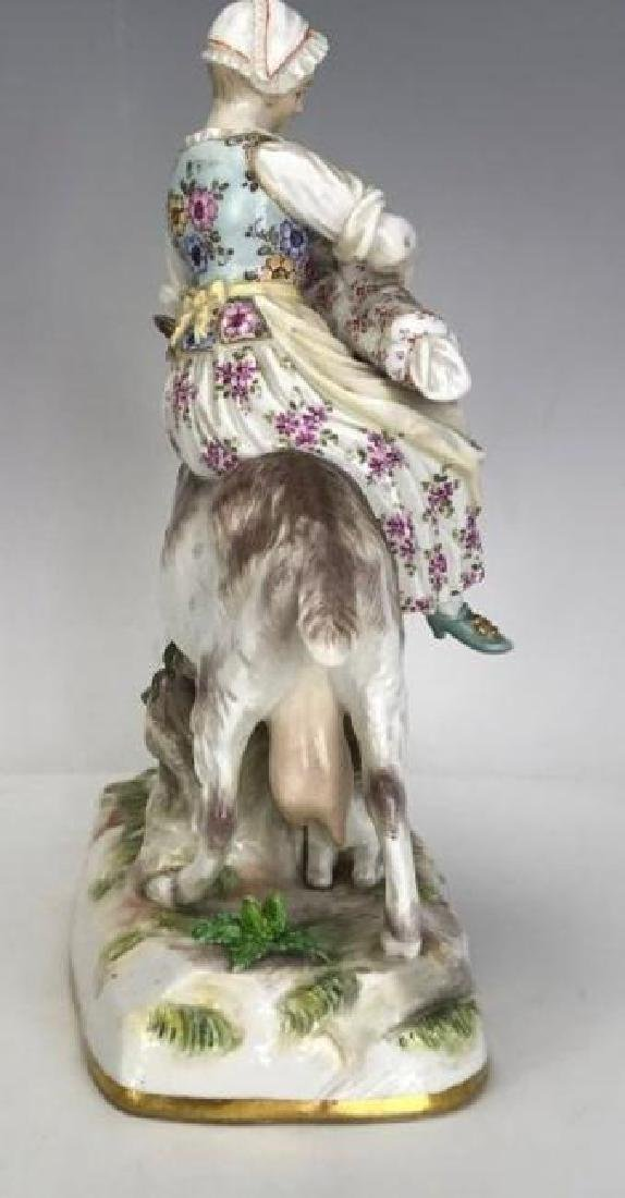 A GOOD 19TH C. MEISSEN GROUP - 2