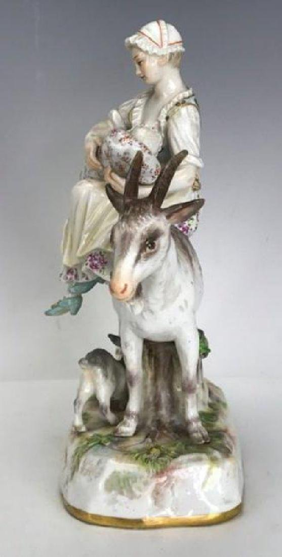A GOOD 19TH C. MEISSEN GROUP - 4