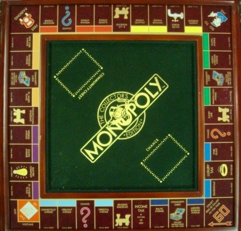 A FRANKLIN MINT COLLECTOR\'S EDITION MONOPOLY GAME