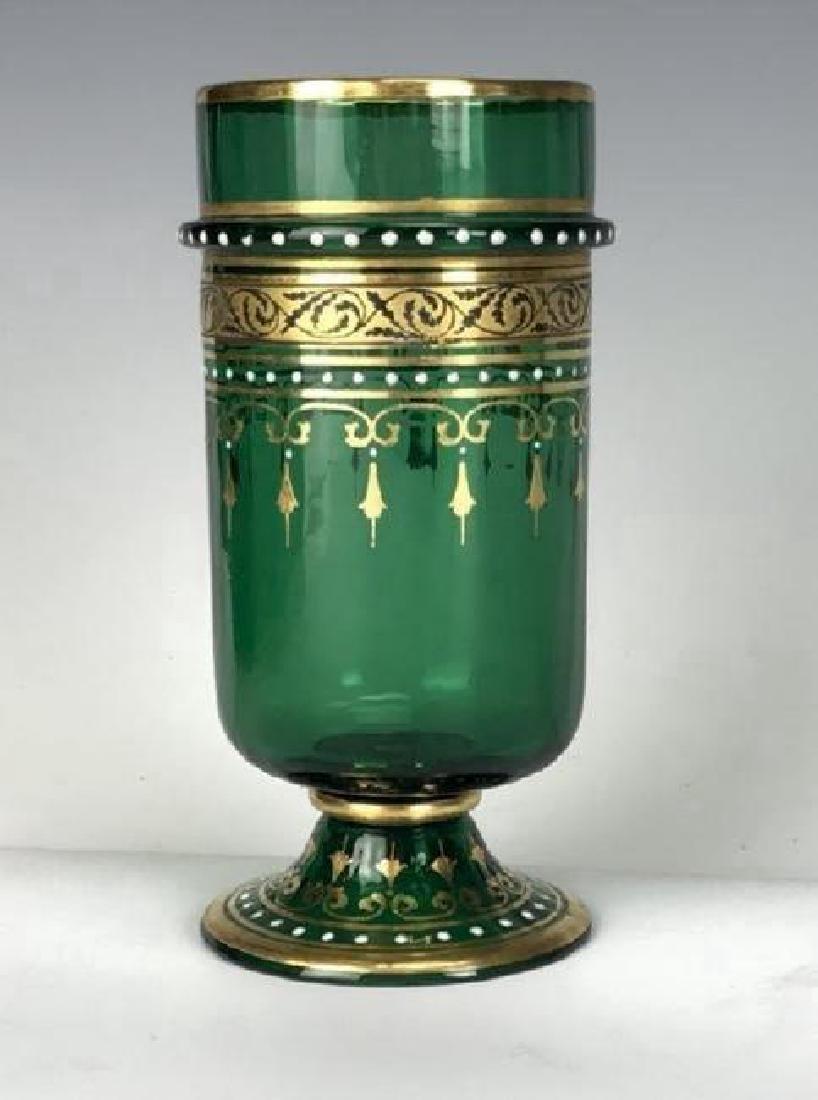 SIGNED 19TH C. LOBMEYR GLASS