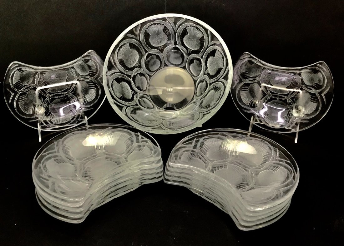 LALIQUE BERRY SET