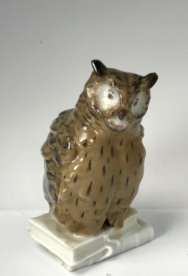 ART NOUVEAU MEISSEN OWL