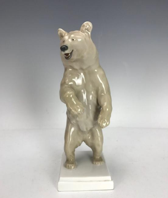 ANTIQUE MEISSEN BEAR CIRCA 1924/1934
