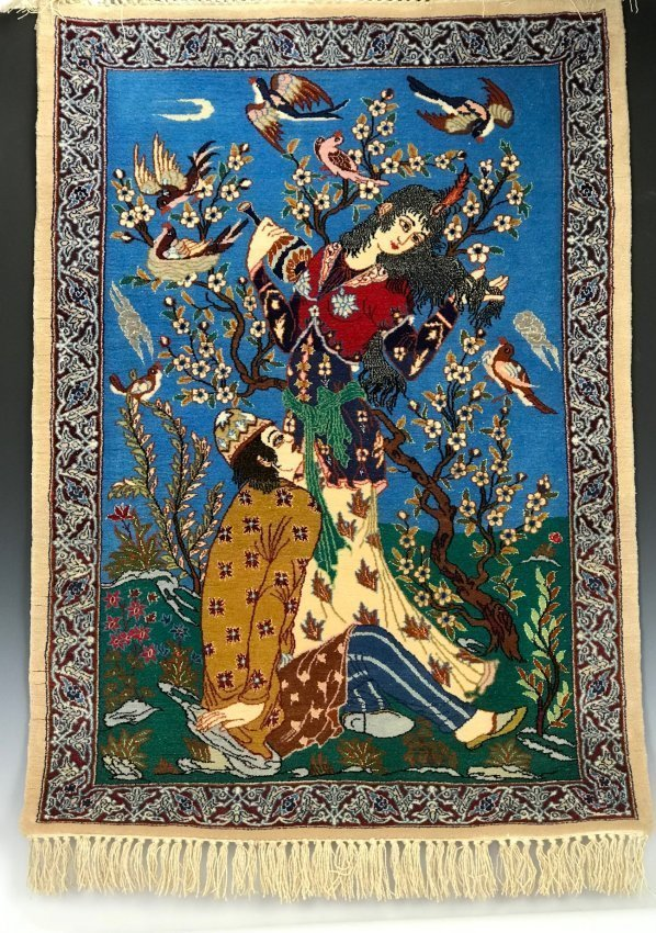 PERSIAN SILK FOUNDATION RUG