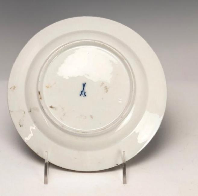 19TH C. MEISSEN PLATE - 2