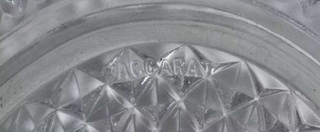 A JAPONAISM DORE BRONZE AND BACCARAT CRYSTAL BOWL - 3
