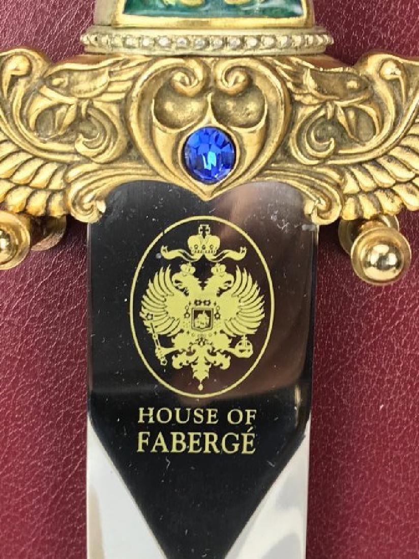 HOUSE OF FABAEGE JEWELED DAGGER - 2