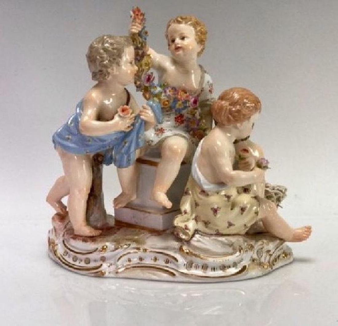 19TH C. MEISSEN GROUP
