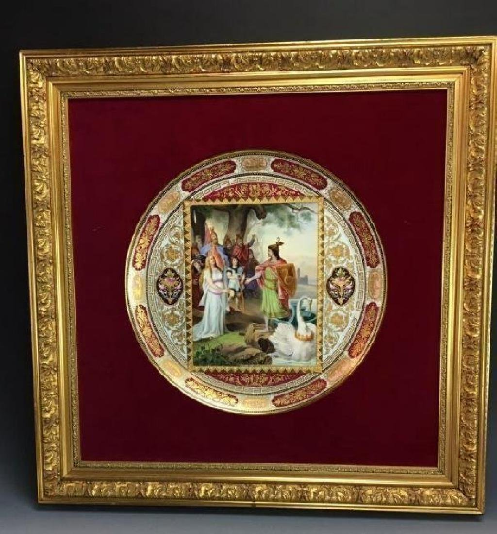 LARGE 19TH CENTURY ROYAL VIENNA CHARGER