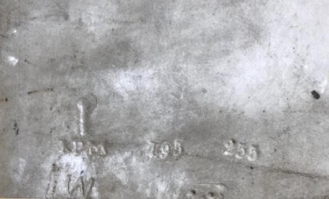A LARGE 19TH C. BERLIN KPM PORCELAIN PLAQUE - 3