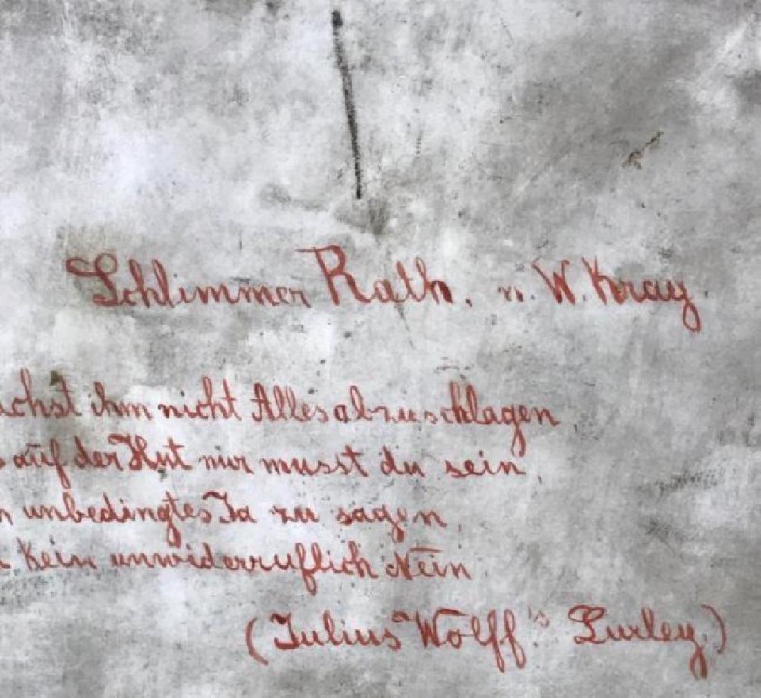 A LARGE 19TH C. BERLIN KPM PORCELAIN PLAQUE - 4