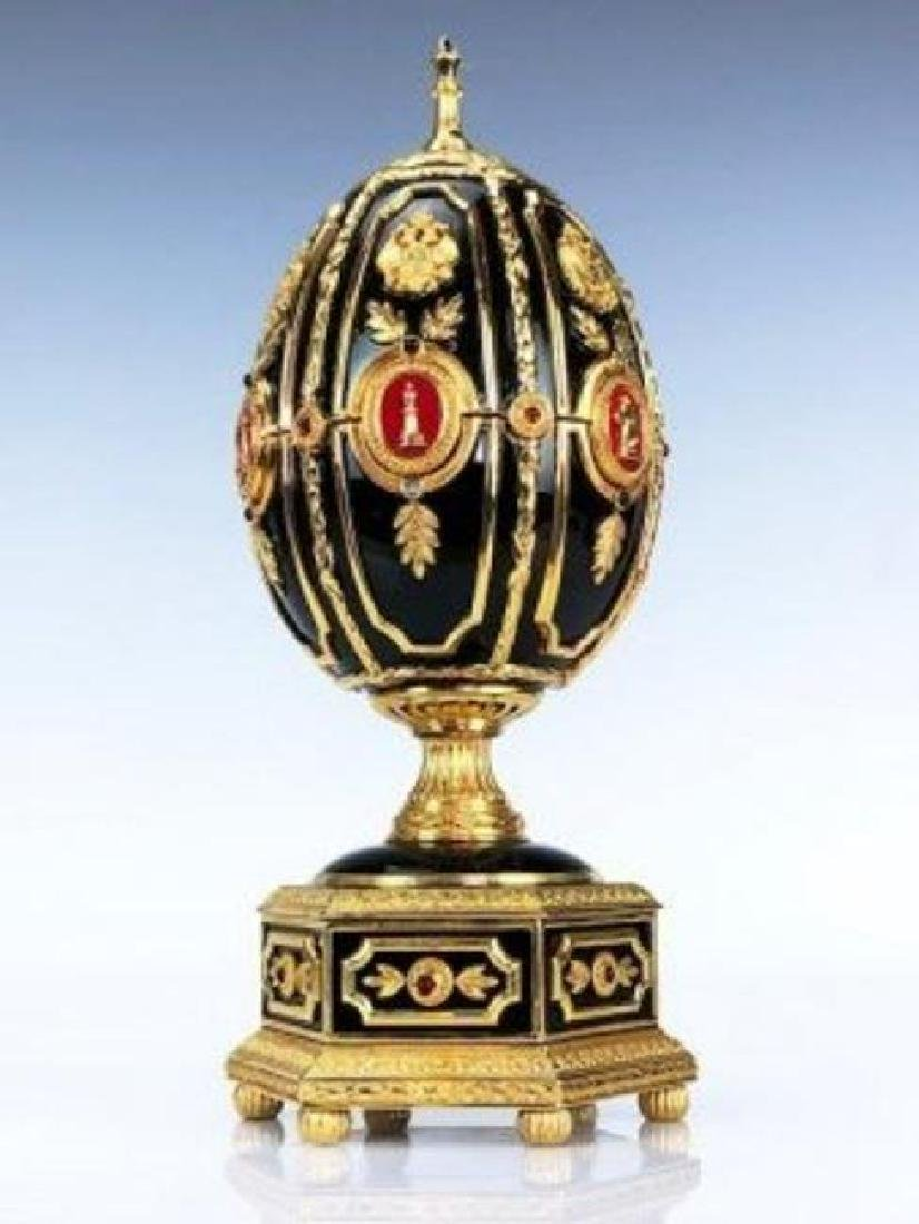 HOUSE OF FABERGE IMPERIAL EGG CHESS SET