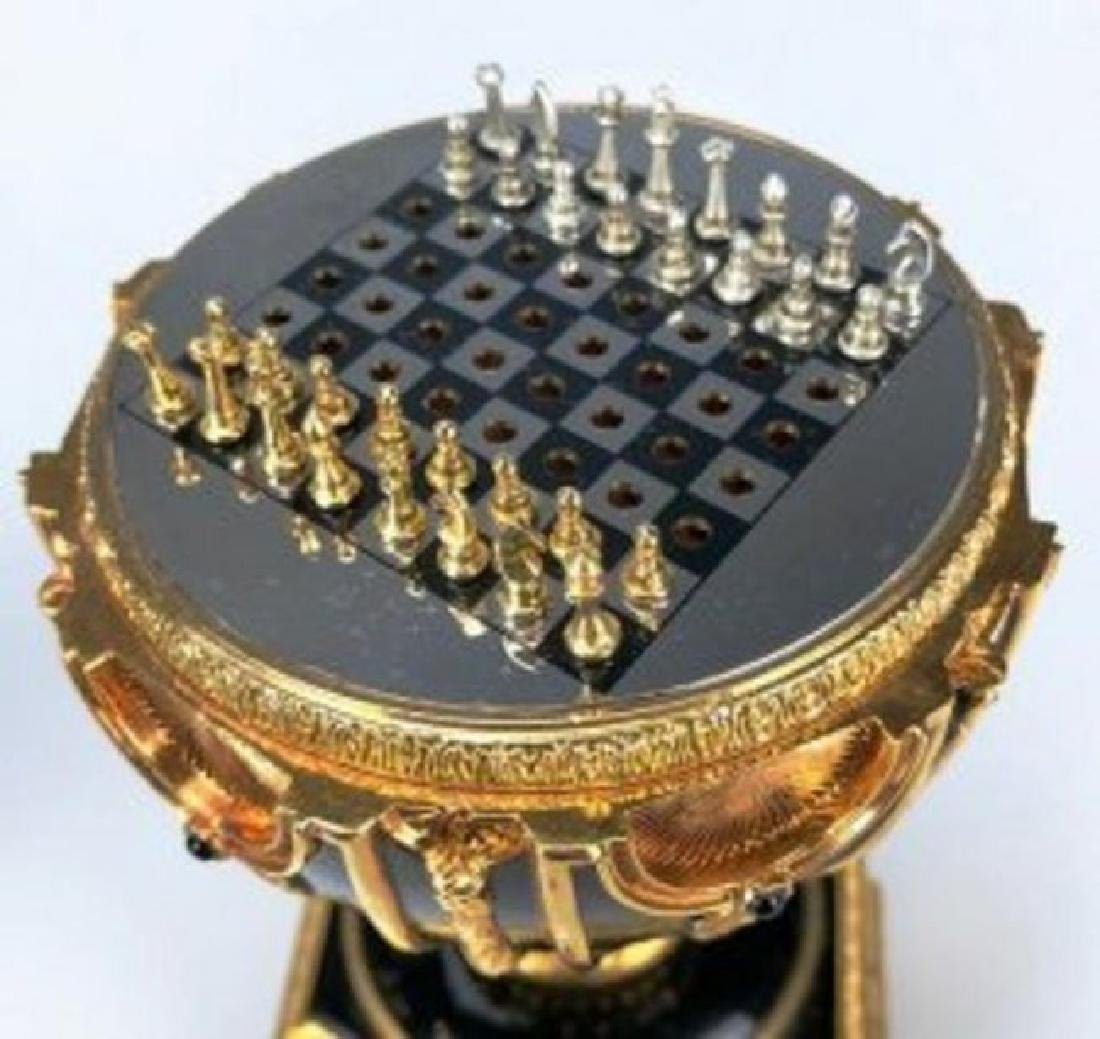 HOUSE OF FABERGE IMPERIAL EGG CHESS SET - 4