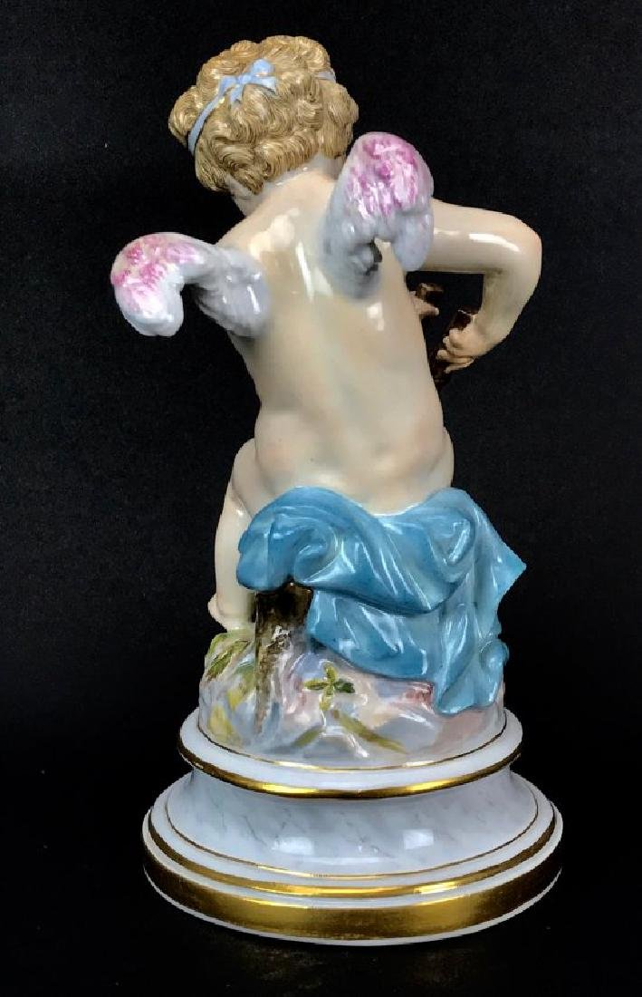 19TH C. MEISSEN CHERUB - 4