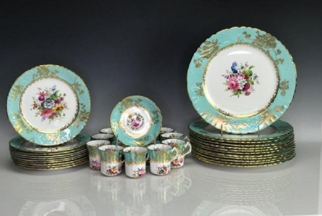 HAMMERSLEY & CO PORCELAIN PART DINNER SERVICE