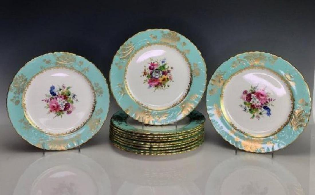 HAMMERSLEY & CO PORCELAIN PART DINNER SERVICE - 2