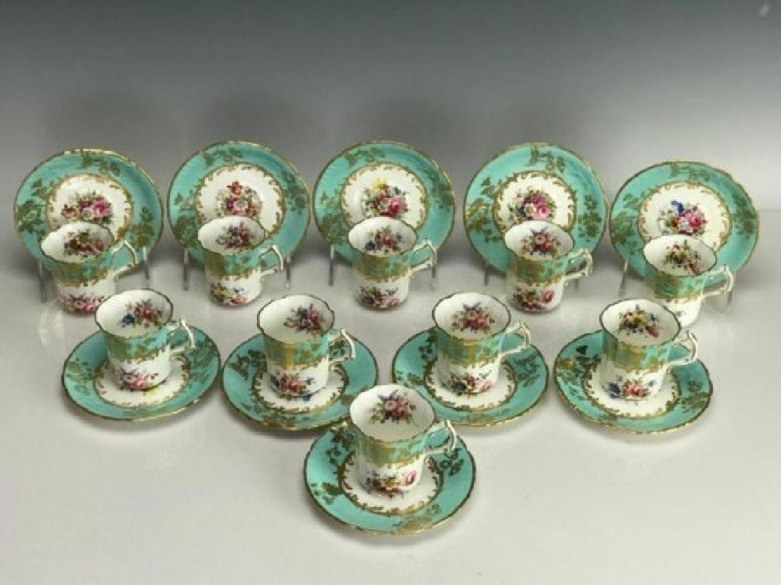 HAMMERSLEY & CO PORCELAIN PART DINNER SERVICE - 3