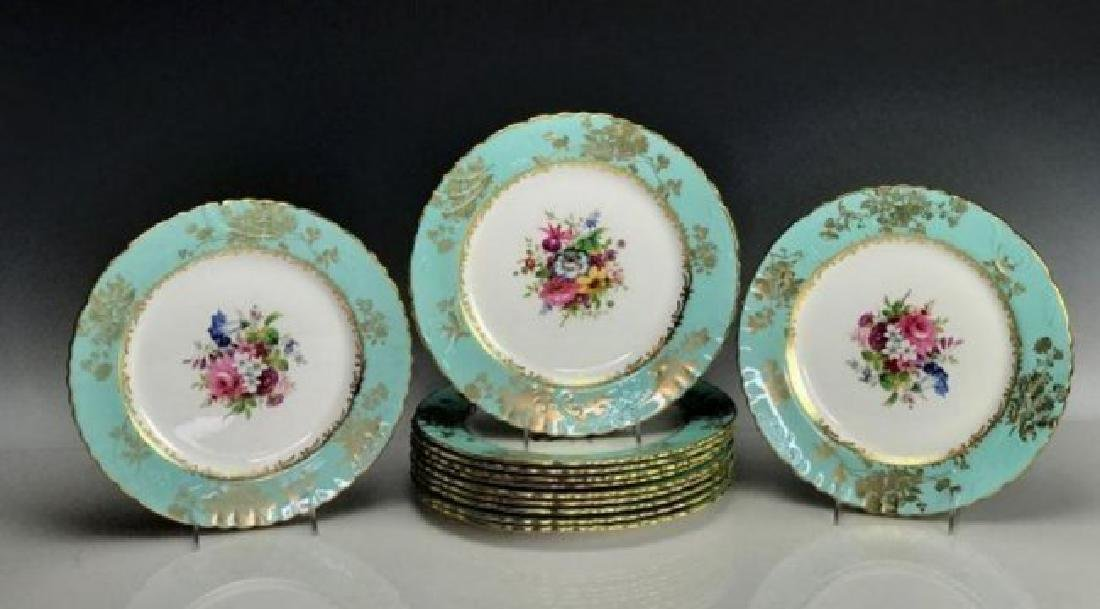 HAMMERSLEY & CO PORCELAIN PART DINNER SERVICE - 4