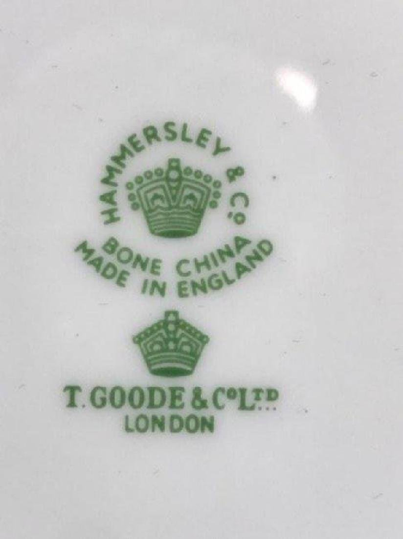 HAMMERSLEY & CO PORCELAIN PART DINNER SERVICE - 7