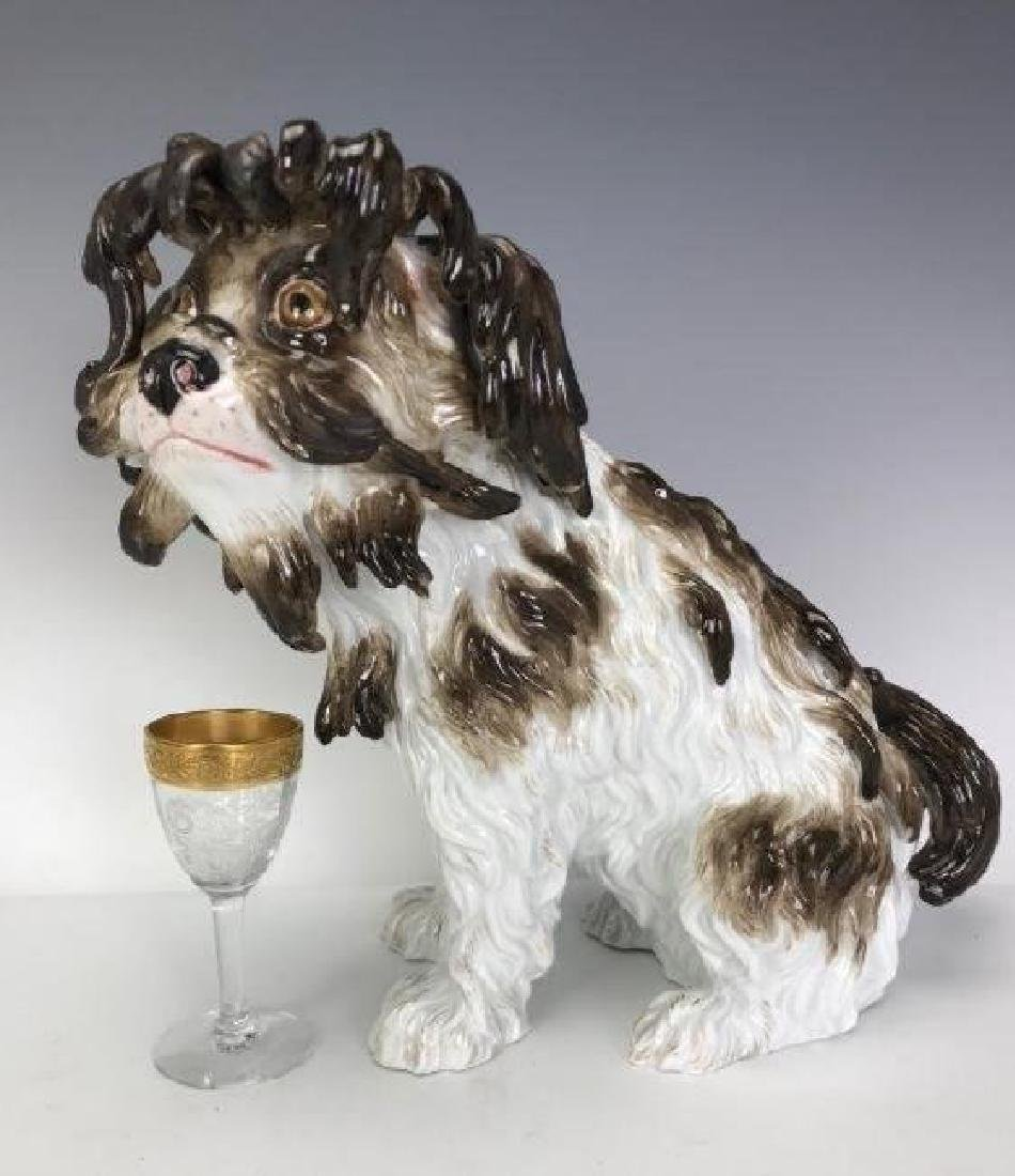 LARGE MEISSEN TERRIER