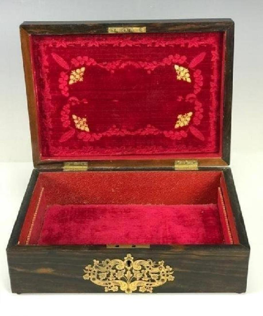 SEVRES AND ORMOLU MOUNTED JEWLRY BOX CIRCA 1900 - 2